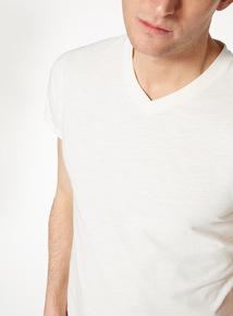 Stone V-neck T-Shirt