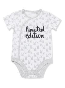 White Limited Edition Bodysuit (Newborn-12 months)