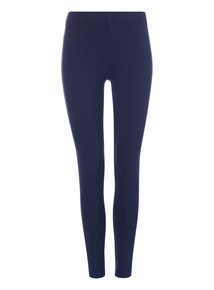 Navy Luxurious Soft Touch Leggings