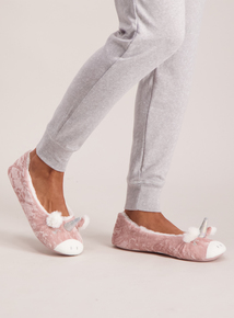 Pink Unicorn Ballerina Slippers