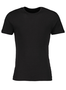 Online Exclusive Black Thermal T-Shirt
