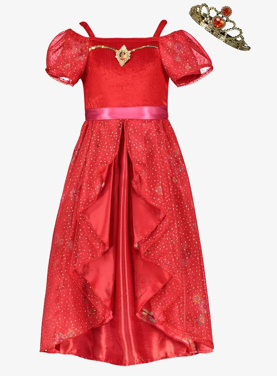 91954bb85c768 Fancy Dress Online Exclusive Disney Princess Elena Costume Set (3-10 years)  | Tu clothing