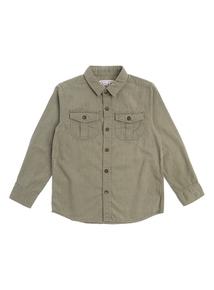 Boys Khaki Cord Shirt (3-12 years)