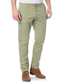 Light Khaki Slim Stretch Chinos