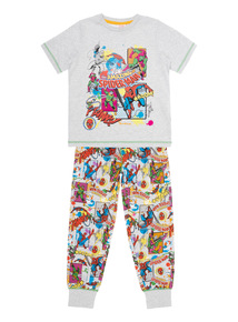 Boys Multicoloured Spiderman Pyjamas (2-12 years)