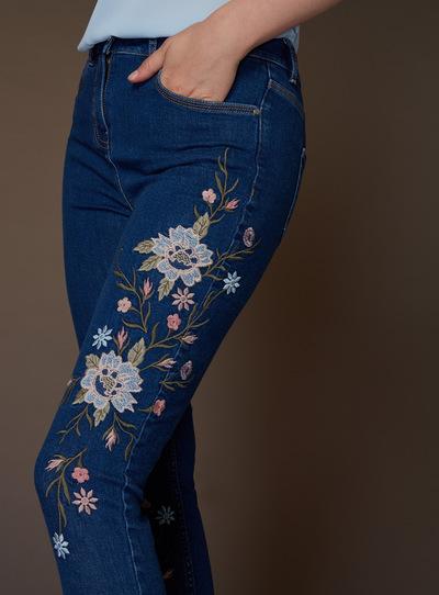 Premium Embroidered Jean