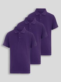 Girls school uniform shop girls school clothes tu clothing for Purple polo uniform shirts