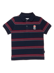 Boys Multicoloured England Rugby Polo Shirt (1-14 years)