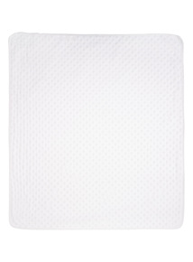 White Velboa Blanket