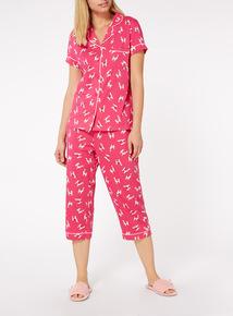 Llama Traditional Style Pyjama Set