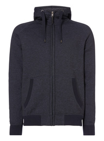 Blue Borg Lined Hoodie