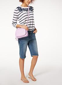 Lilac Cross Body Bag