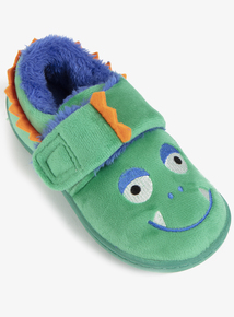Green Monster Novelty Slippers