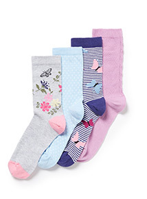 4 Pack Multicoloured Totes Patterned Ankle Sock Gift Set