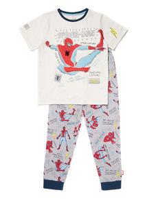 Grey Disney Marvel Spiderman Pyjamas