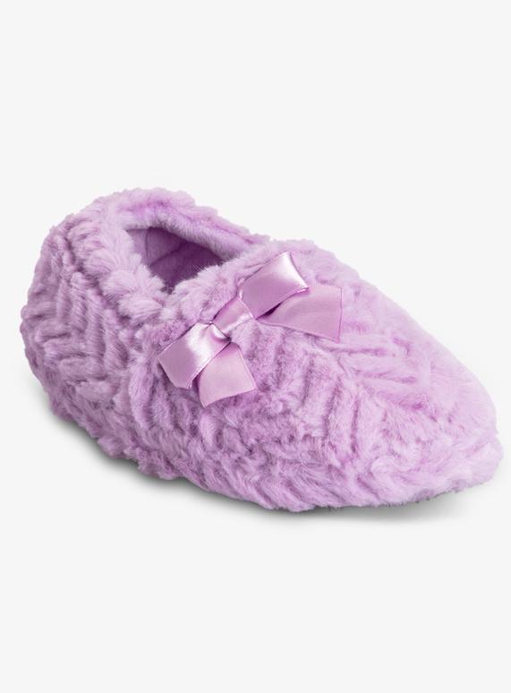 2d08605e793d7 SKU SS19 GIRLS FUR FULL SLIPPER:Purple