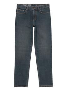 Blue Mid Wash Slim Stretch Denim Jeans