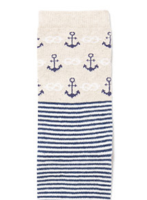 3 Pack Nautical Socks