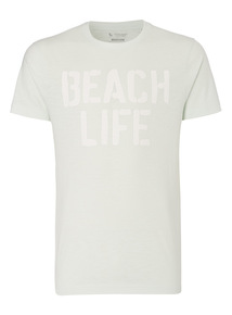 Green Beach Life Tee