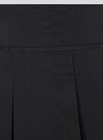 Online Exclusive Black Plus Fit Permanent Pleat Skirt 2 Pack (3-12 years)