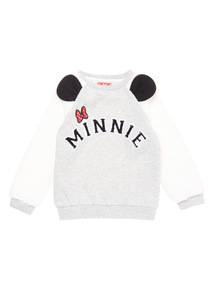 Grey Disney Minnie Mouse Sweat (9 months - 5 years)