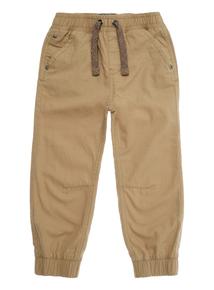 Boys Stone Woven Cuff Trouser (3-12 years)