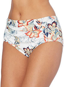 Amazon Floral High Waisted Brief