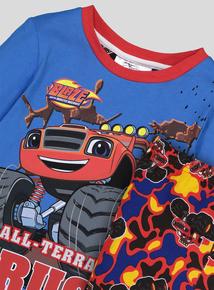 Multicoloured Blaze Character Pyjamas (1-6 years)