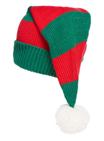 Elf Hat With Pom
