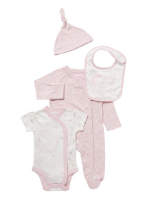 Pink Swan Starter Set (Tiny baby-12 months)