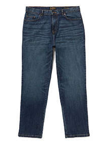 Light Denim Wash Loose Jeans