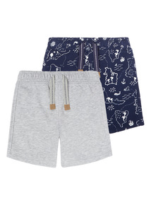Sweat Shorts 2 Pack (9 months - 6 years)