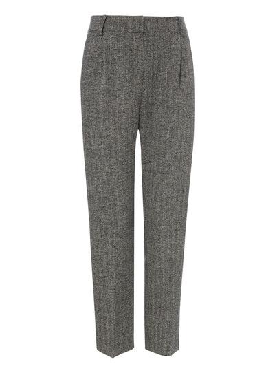 Grey Crosshatch Trousers