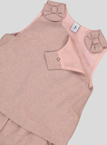 Pink Formal Playsuit (9 months - 6 years)