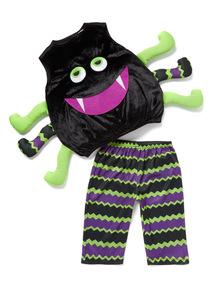 Black Halloween Toddler Spider Costume (0-4 years)