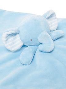 Blue Elephant Comforter