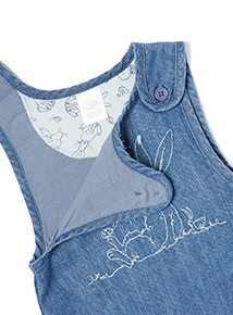 Blue 'Guess How I Much I Love You' Bibshort and Bodysuit Set (Newborn-24 months)