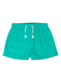 Green Broderie Shorts (9 months - 6 years)
