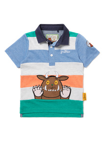Multicoloured Striped Gruffalo Rugby Shirt (9 months-6years)