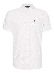 Admiral White Target Pattern Shirt