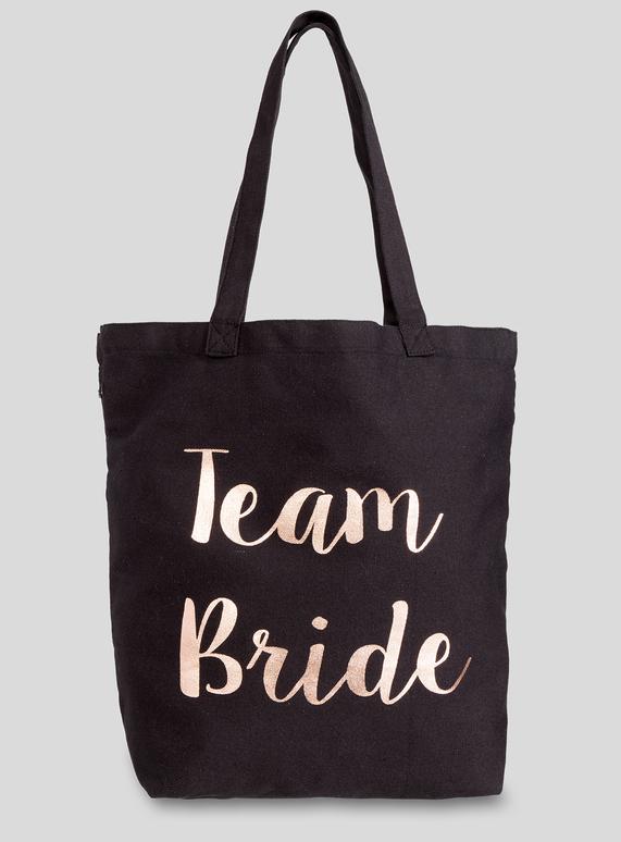 f5eda24953fd Womens Black Team Bride Bag