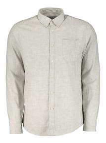 White Tattersall Check Regular Fit Shirt
