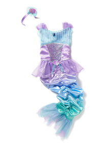 Multicoloured Mermaid Fancy Dress Costume (3-10 years)