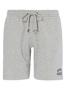 Online Exclusive Russell Athletic Grey Marl Shorts