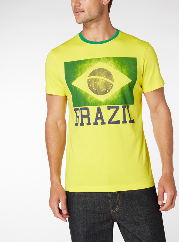 Brazil Football Tee