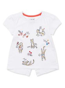 White Tiger Hero T-Shirt (9 months-6 years)
