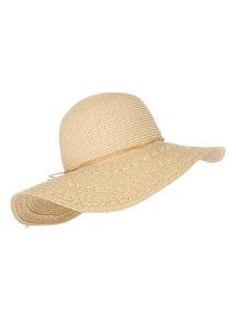 Natural Large Brim Straw Hat