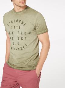 Green Airborne 1918 T-shirt