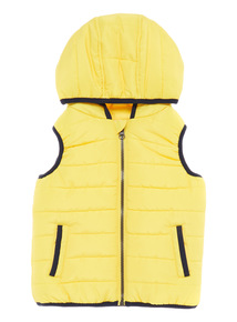 Boys Yellow Gilet (9 months - 5 years)