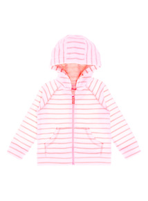 Pink Striped Beachcomber Fleece (9 months - 6 years)